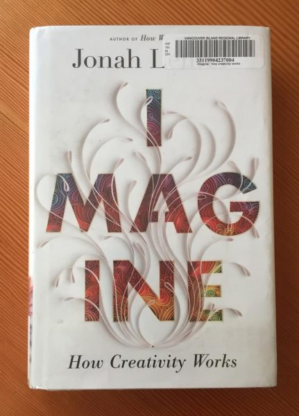Book review Imagine: How Creativity Works by Jonah Lehrer